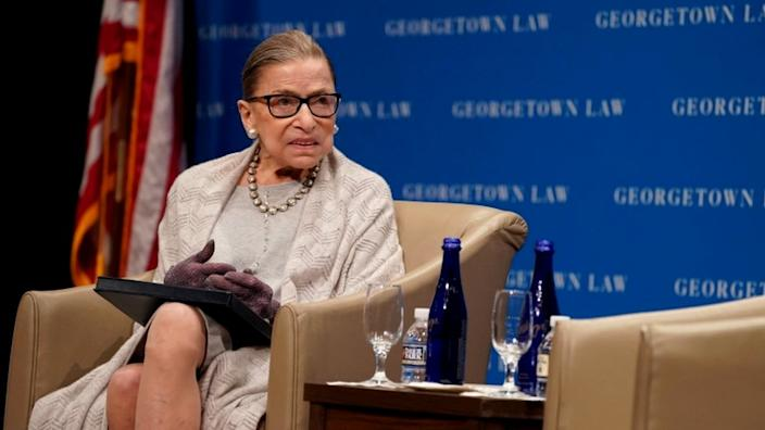 Ruth Bader Ginsburg is the court's most senior liberal justice, and her health is closely watched