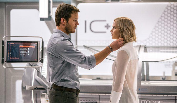 Chris Pratt and Jennifer Lawrence star in Passengers - Credit: Columbia Pictures