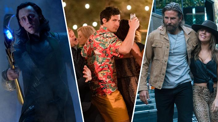 Avengers, Palm Springs and A Star Is Born are all streaming this weekend (Disney/Amazon/Warner Bros)