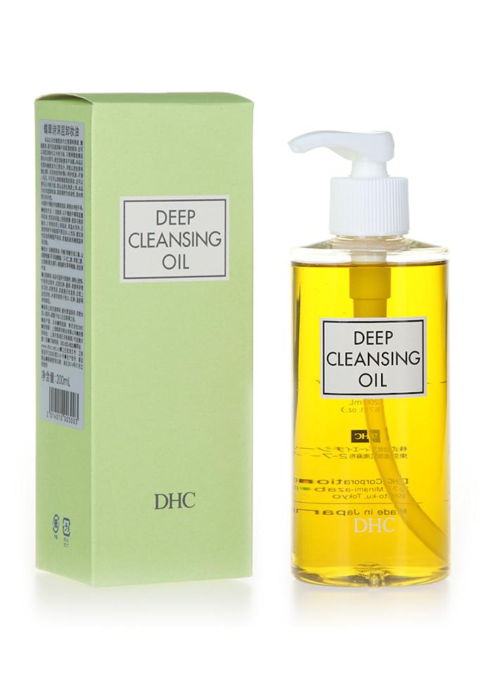 "DHC Deep Cleansing Oil, $22; at <a rel=""nofollow"" href=""http://www.dhccare.com/deep-cleansing-oil"" rel="""">DHC</a>"