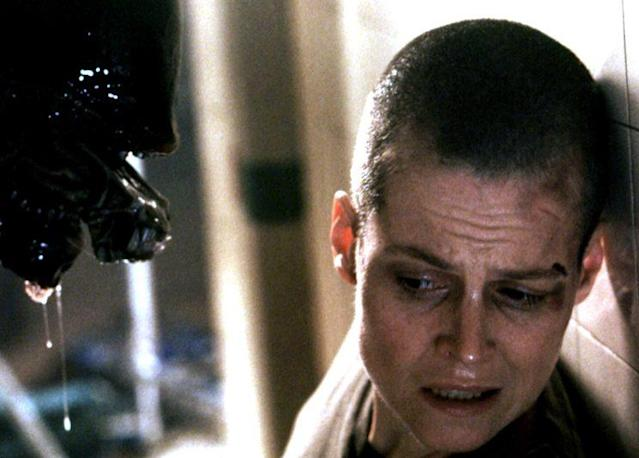Sigourney Weaver as Ellen Ripley in 'Alien 3' (Photo: Everett)
