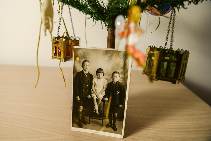 The tree has become an integral part of the family, passed down through generations. [Photo: SWNS]