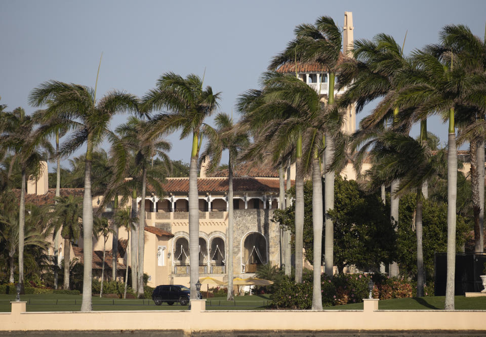 El edificio del club Mar-a-Lago de Donad Trump, en Palm Beach, Florida. (Joe Raedle/Getty Images)