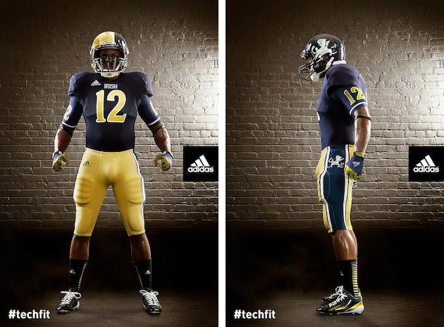 692aa46df Notre Dame outdoes itself with new Shamrock Series uniforms (and not ...