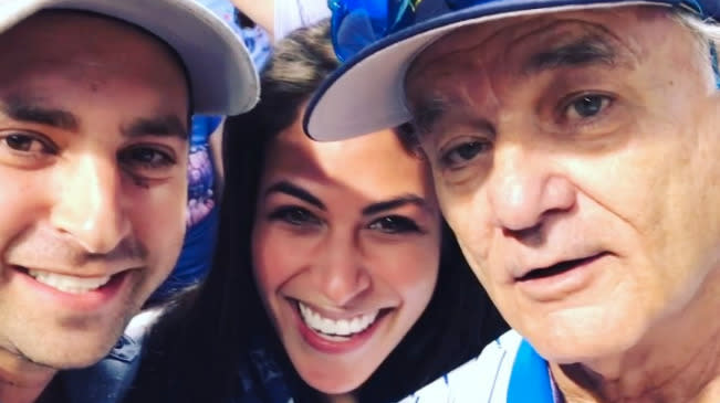 Bill Murray Helps Couple Announce Pregnancy News