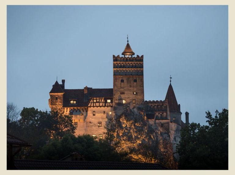 """<p><strong>Come for the bloodsuckers, stay for the medieval architecture.</strong></p><p><em>By Chanel Parks</em><span><em></em></span></p><p><span><span>The Bran Castle in Romania is supposedly the home of Dracula. Bram Stoker's 1897 novel describes a mountainous landscape and extravagant home in Transylvania that has striking similarities to the Bran, although Stoker himself never even visited Romania…allegedly. <span></span></span></span></p><p><span><span><span></span></span></span></p><p>But who cares if he ever<em> actually </em>went. The legend stands, and the old medieval architecture and the name Transylvania are enough to make this place feel spooky. On top of that, Transylvania's real-life inhabitants once believed that strigoi, or living-dead spirits, roamed the streets of Bran at night to wreak havoc. Are these shady monster-like creatures still lurking around? We need to pay a visit to Transylvania to find out.</p><p><strong>This Spring:</strong> Take the Two Castles in One Day tour, a 12-hour excursion that allows you to see Bran Castle, Peles Castle, and their surrounding villages. If you have time, hit up The Horror Castle near the main castle—it's a short haunted adventure that will tap into those spooky Transylvania vibes.</p><p><img></p><p>For more information about visiting vampires and the living dead—um, we mean, castles—visit <a rel=""""nofollow"""" href=""""http://www.bucharestcitytour.com/""""><u>bucharestcitytour.com</u></a>.<span></span></p>"""