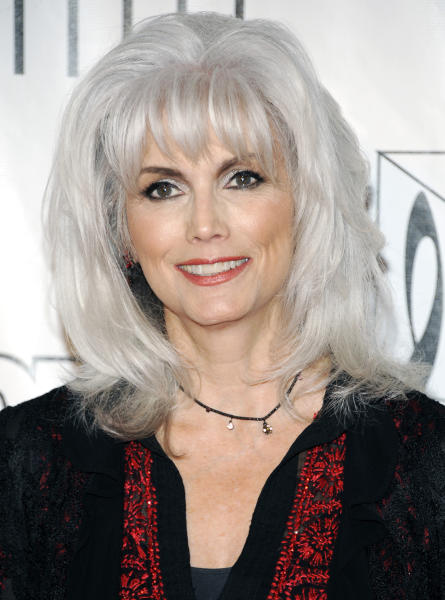 FILE - In this June 14, 2012 file photo, singer Emmylou Harris arrives at the 2012 Songwriters Hall of Fame induction and awards gala at the Marriott Marquis Hotel, in New York. Prosecutors on Wednesday Jan. 30, 2013, charged Harris with misdemeanor hit-and-run for leaving an Oct. 1, 2012, accident on a Los Angeles freeway without exchanging info with another driver. (Photo by Evan Agostini/Invision, File)