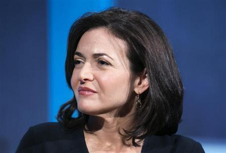 The chief operating officer of Facebook, Sheryl Sandberg, listens at the Clinton Global Initiative 2013 (CGI) in New York