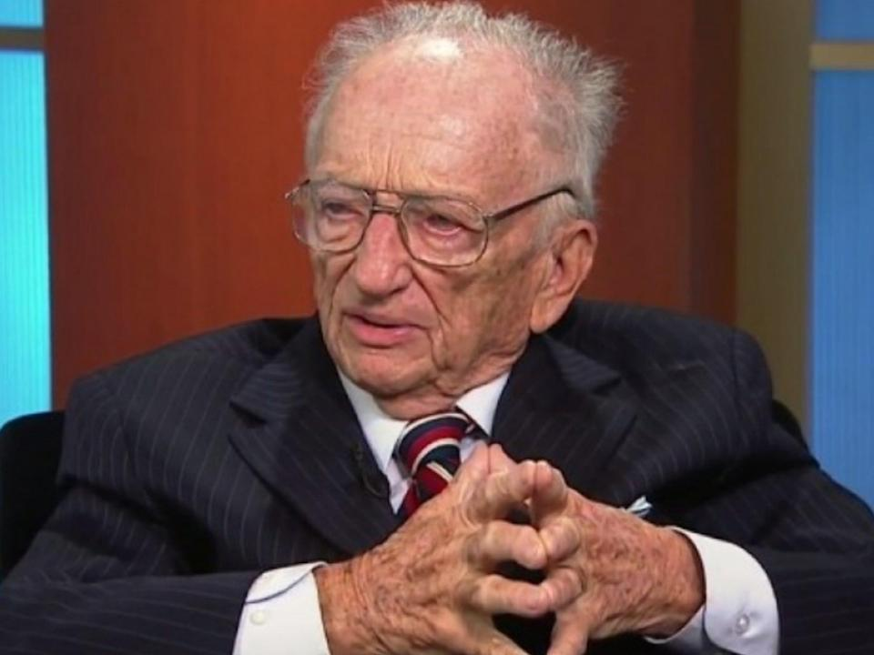 Nuremberg trials prosecutor Ben Ferencz, 99, said US President Donald Trump's family separation policy was a 'crime against humanity': UN Photo