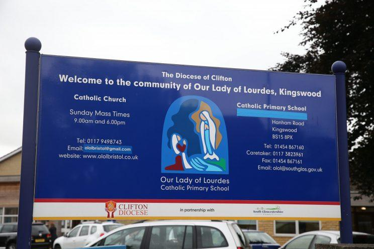 The Our Lady of Lourdes Catholic Primary School, Bristol (SWNS)