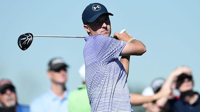 In the final event before the Masters, 2015 winner Jordan Spieth looks set to miss the cut.