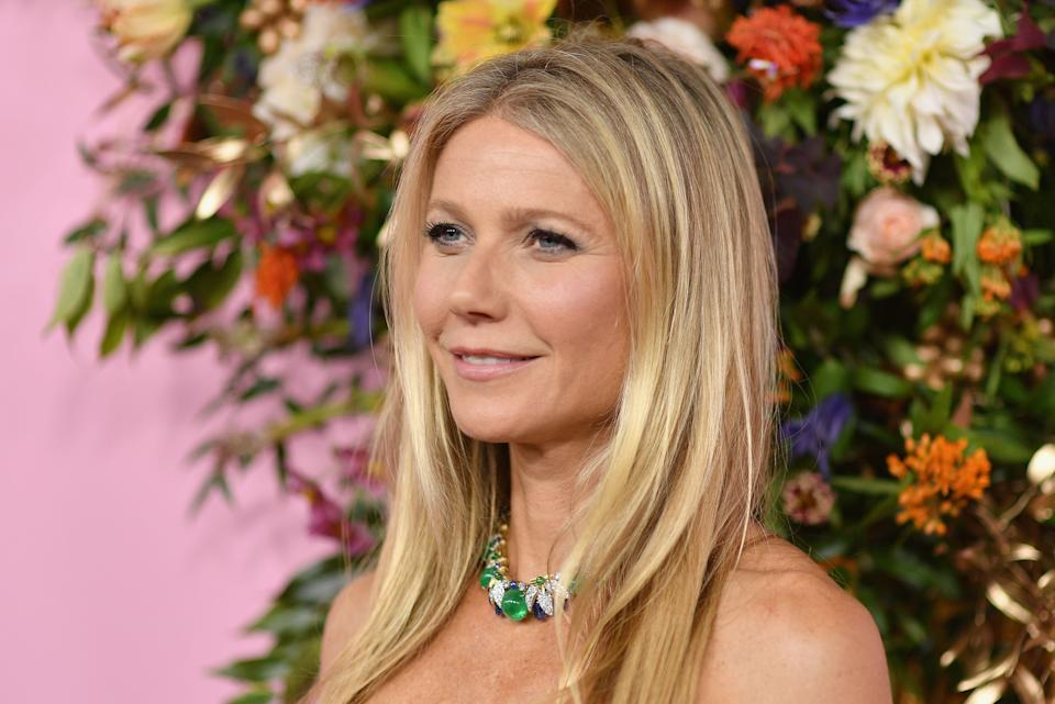 """Gwyneth Paltrow arrives for the Netflix premiere of """"The Politician"""" at the DGA theatre in New York in September 2019 (AFP via Getty Images)"""