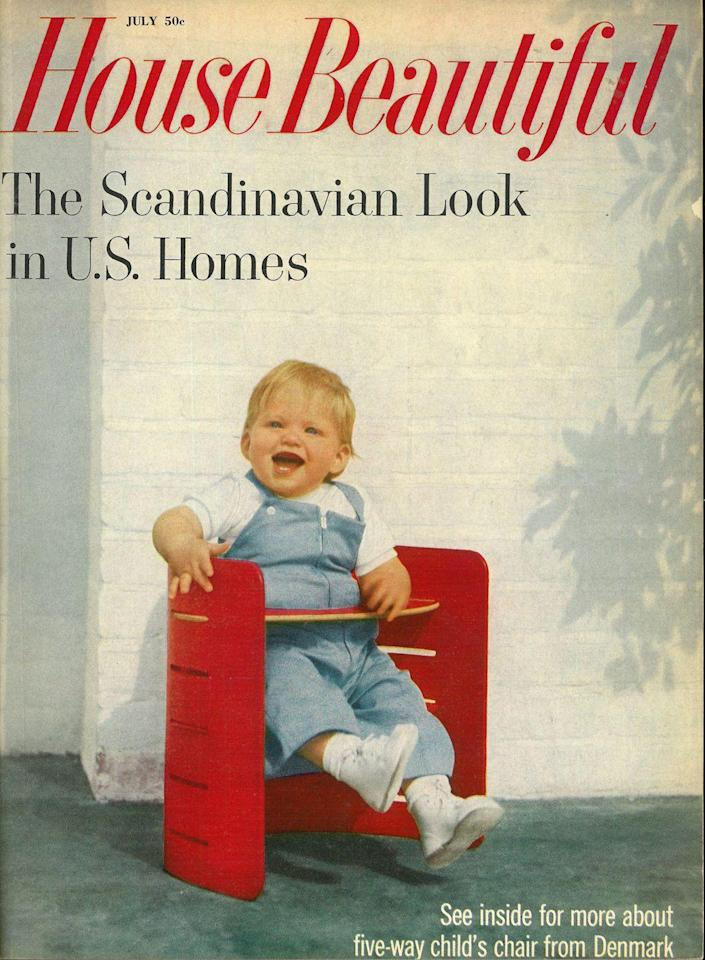 <p>If you thought the hygge obsession was a recent thing, think again: Scandinavian style made its first splash in the U.S. in the late 1950s, as seen in this issue. </p>