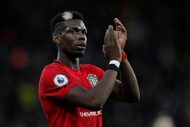 Paul Pogba has been linked with a move away from Old Trafford (Action Images via Reuters/Paul Childs)