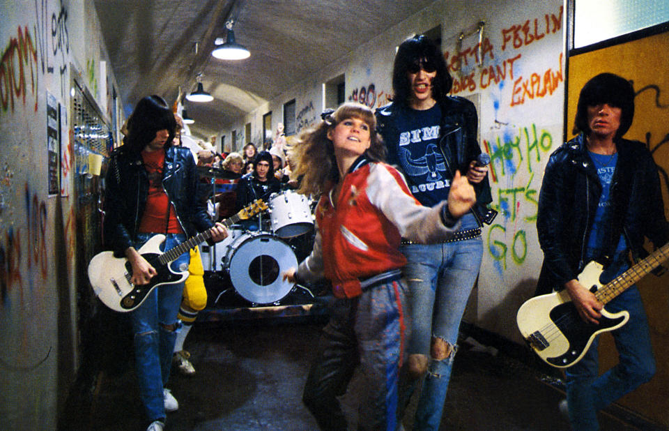 P.J. Soles appears alongside the Ramones in the 1979 cult classic 'Rock 'N' Roll High School' (Photo: Courtesy Everett Collection)