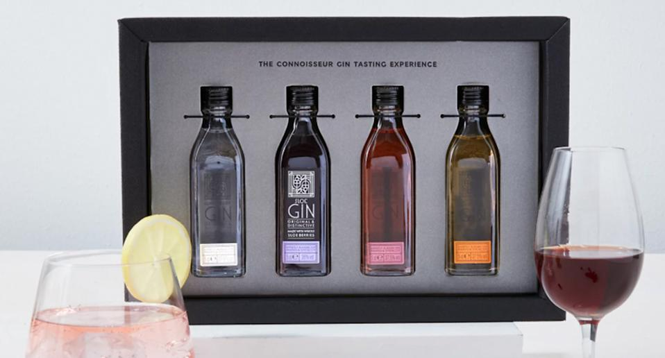 The Connoisseur Gin Tasting Experience Gift . (Marks & Spencer)