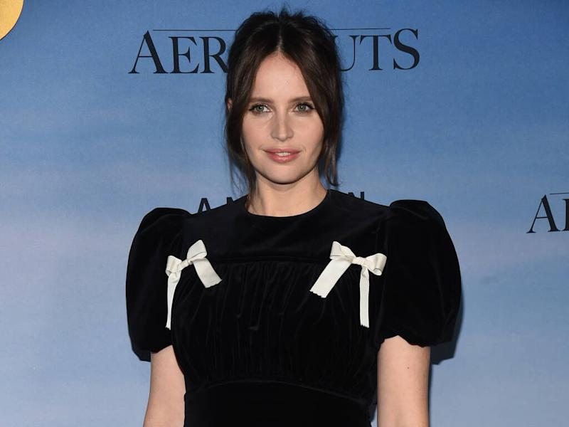 Felicity Jones doesn't enjoy working out in a gym