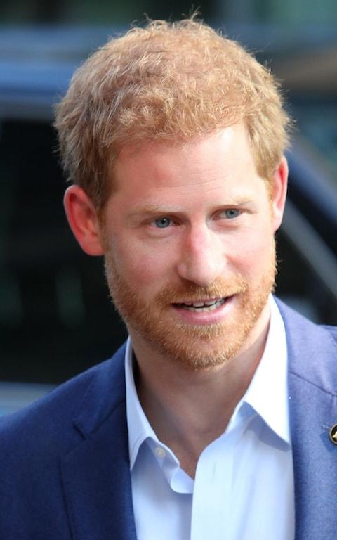 Prince Harry arrives to The Centre for Addiction and Mental Health ahead of the Invictus Games 2017 on September 23, 2017 - Credit: Chris Jackson/Getty Images North America