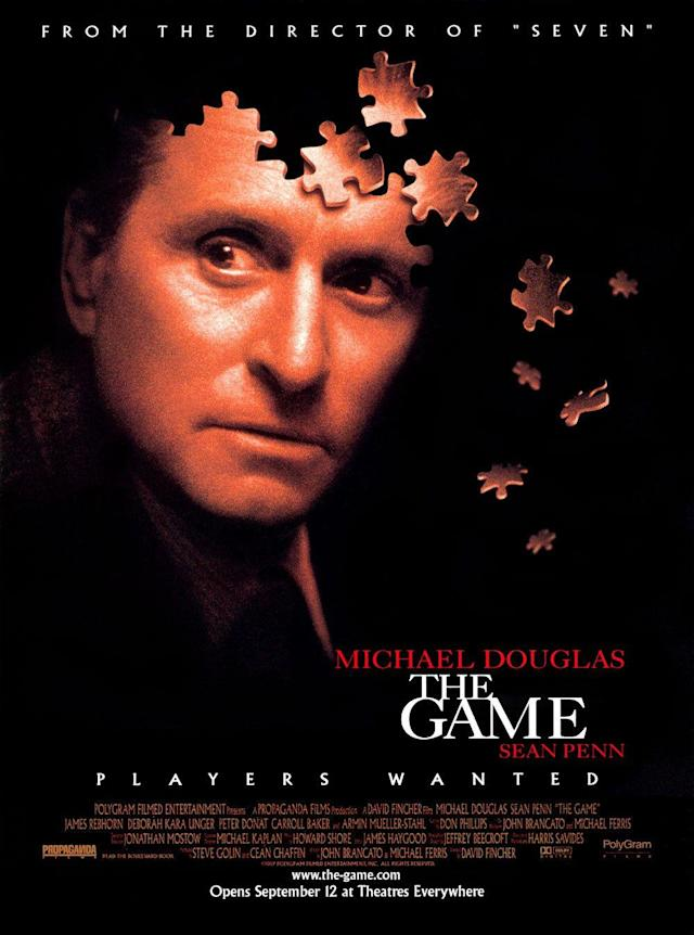 Michael Douglas gets played in David Fincher's 1997 film <i>The Game</i>.