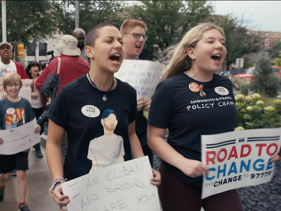 <p>Us Kids director Kim A Snyder talks Parkland students' resolve and the eventual 'generational shift' in gun control</p> (Greenwich Entertainment)