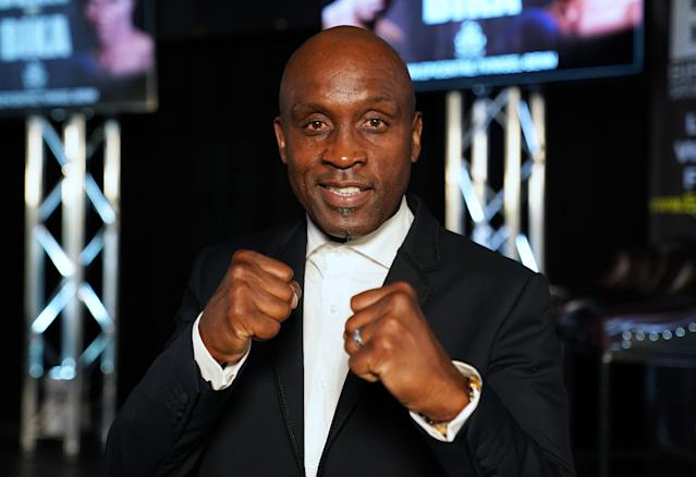 Nigel Benn is one of the best British boxers of all time. (Credit: PA)