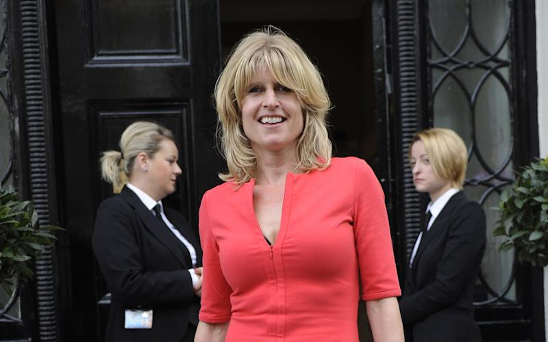 Rachel Johnson is said to be considering standing as a candidate in the General Election - Lucy Young / Rex Features