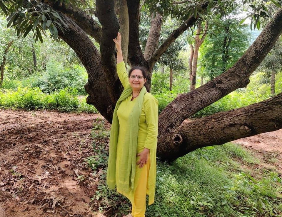 Gauri Sarin says that many women are taking up farming as a second career