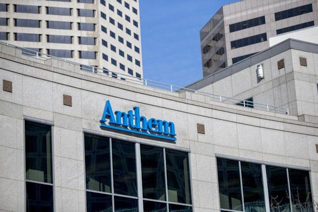 Anthem Health Insurance headquarters in Indianapolis. (Photo: Aaron P. Bernstein/Getty Images)