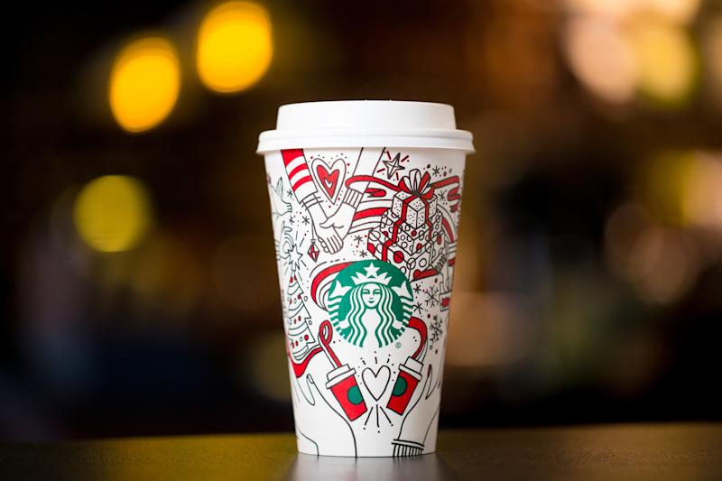 Is this year's Starbucks holiday cup 'gay'?
