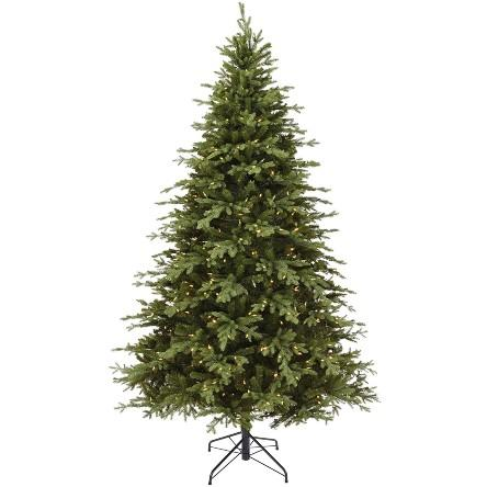 NOMA 7.5-Foot Pre-lit Christmas Tree with Lights. (Photo: Amazon)