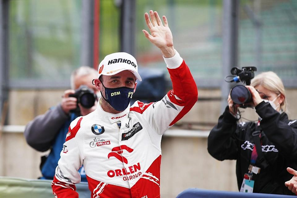 Kubica delighted to end podium drought