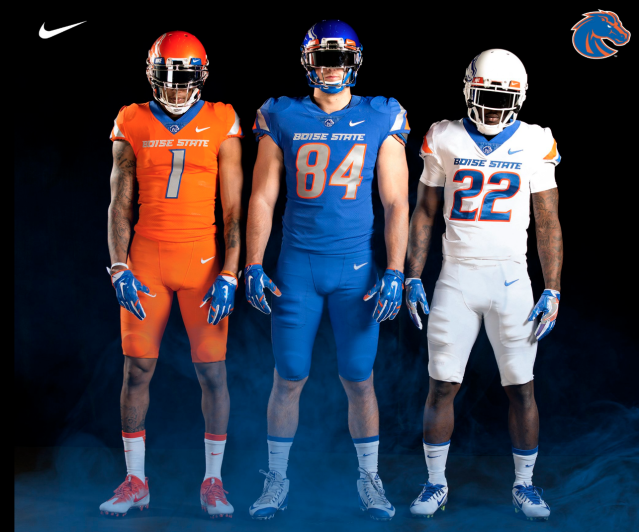 Boise's new duds for 2017. (Nike/Boise State)