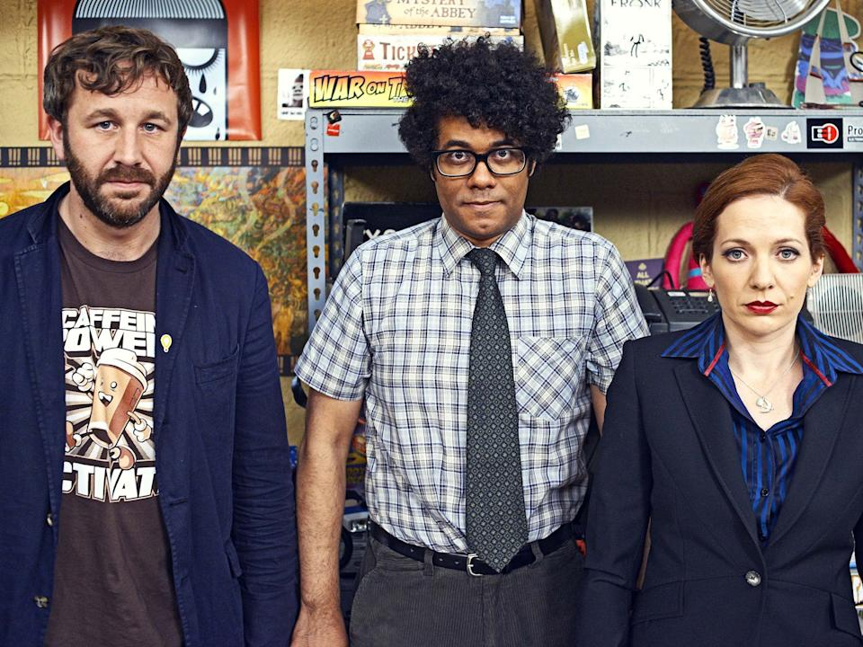 The cast of 'The IT Crowd'Channel 4