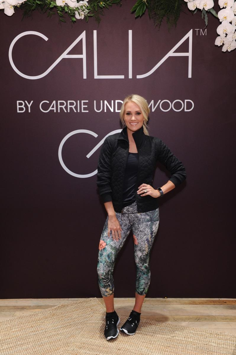 Carrie Underwood hosts CALIA Event during New York Fashion Week at West Edge on September 11, 2017 in New York City.