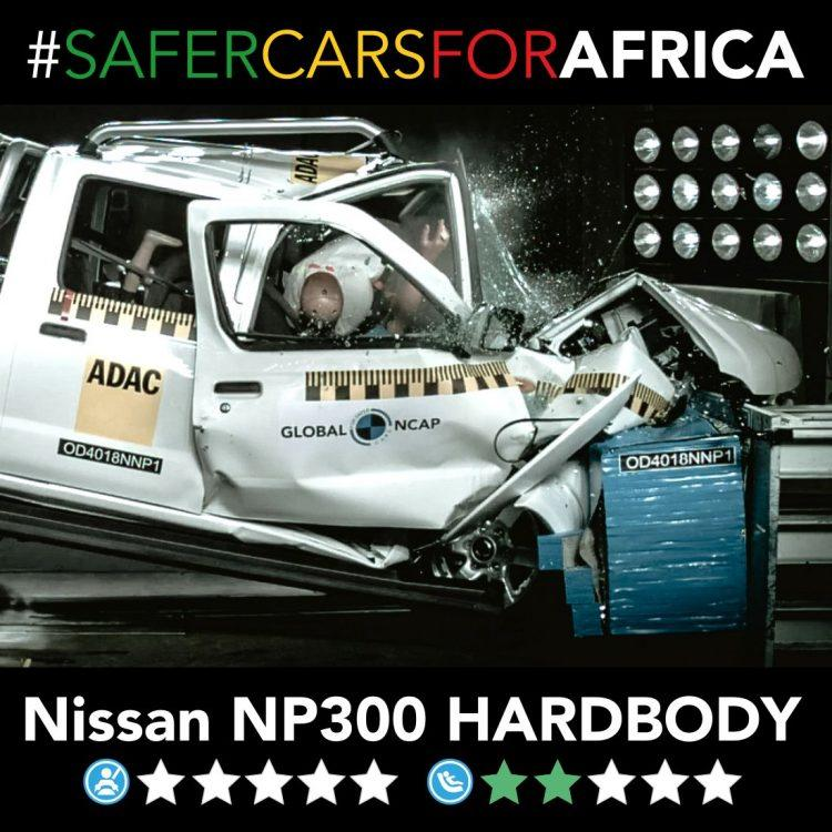 Global NCAP Nissan NP300 'Hardbody'