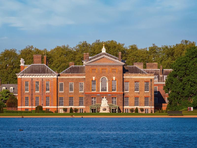 Body was found in Round Pond outside Kensington Palace: Getty