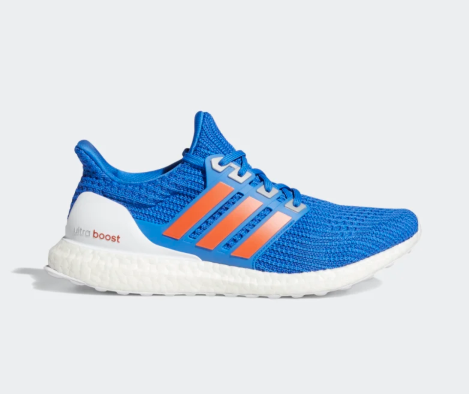 Ultraboost 4.0 DNA Shoes in Football Blue (Photo via Adidas)
