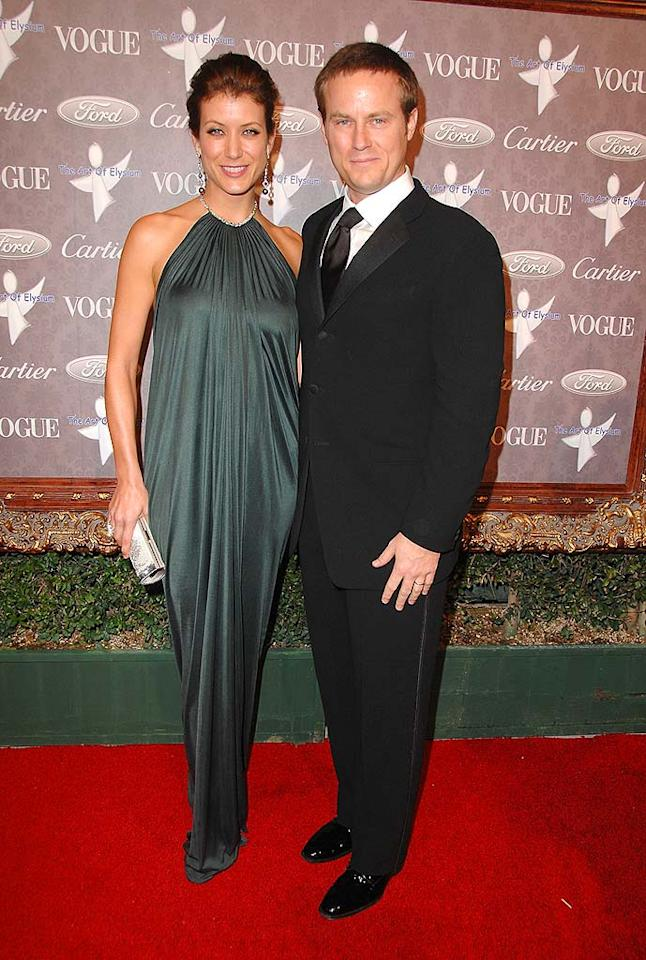 "Newlyweds Kate Walsh (""Private Practice"") and Alex Young, a production co-president at 20th Century Fox, add some star power to the red carpet. Steve Granitz/<a href=""http://www.wireimage.com"" target=""new"">WireImage.com</a> - January 12, 2008"