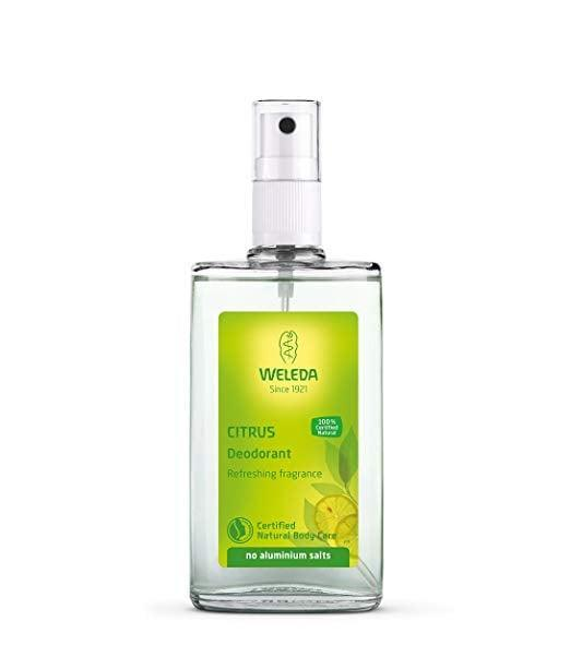 <p>This <span>Weleda Citrus 24h Deodorant Spray</span> ($9) comes in two other scents, but we love the crisp citrus version.</p>