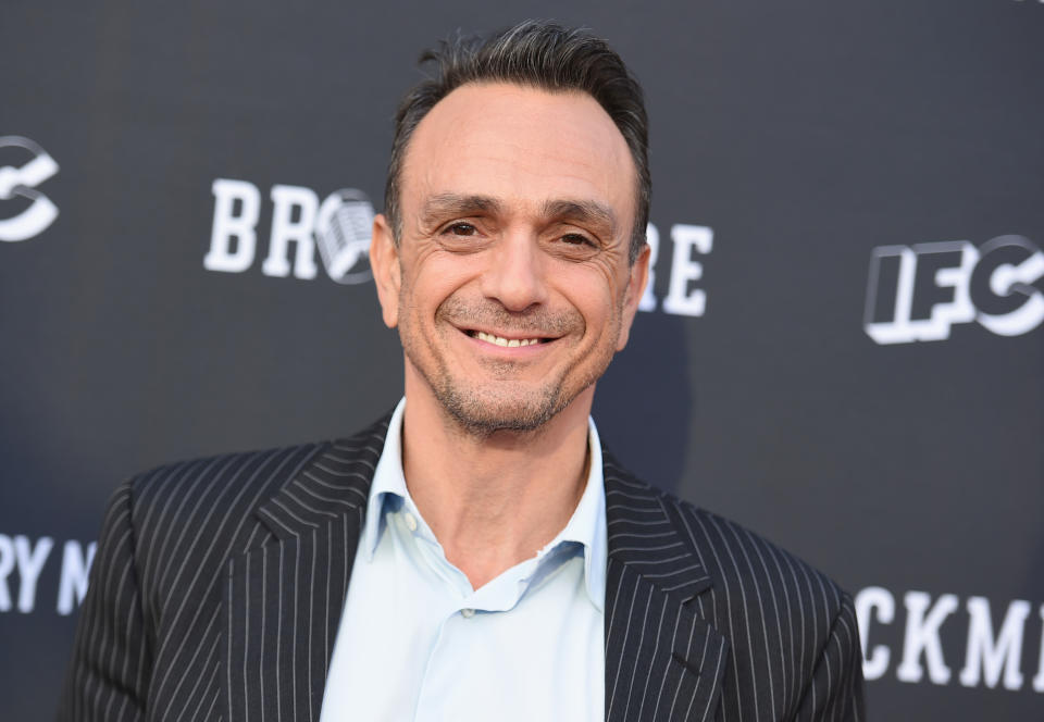 """Hank Azaria is ready to stop voicing Kwik-E-Mart owner Apu on """"The Simpsons"""" in the wake of criticism that it is a stereotype. Azaria on Tuesday's """"The Late Show with Stephen Colbert"""" says he hopes the animated show makes a change and he's willing to step aside if necessary. (Photo by Richard Shotwell/Invision/AP, File)"""