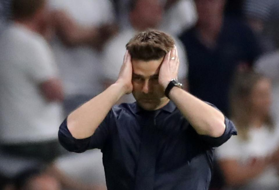 Mauricio Pochettino helped lift Tottenham Hotspur out of the clockwork upheaval it regularly experienced. At least until Tuesday. (REUTERS/Carl Recine)
