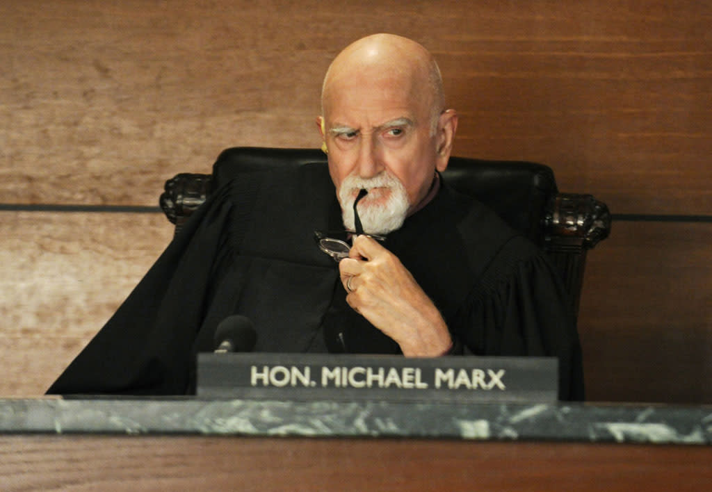 """Emmy Award-nominated actor Dominic Chianese guest stars on """"The Good Wife"""" as a veteran judge with an uncanny knowledge of computer programming."""