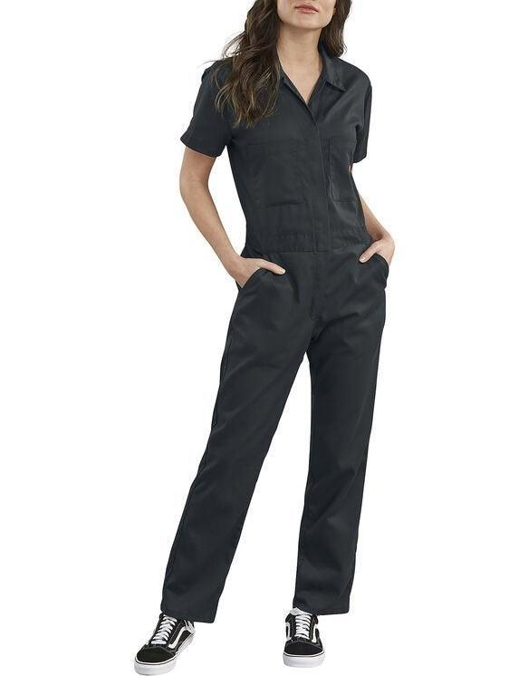 """<h2>Coveralls</h2><br>""""I mean, I just love a coverall so much because I feel so cute and gay and gender euphoric in them. Plus, they're really breathable so I don't get too sweaty, especially paired with Chacos, Birkenstocks, or Tevas."""" – <em>Hannah Rimm, Monday Diaries Associate Editor</em><br><br><em>Shop <strong><a href=""""https://www.dickies.com"""" rel=""""nofollow noopener"""" target=""""_blank"""" data-ylk=""""slk:Dickies"""" class=""""link rapid-noclick-resp"""">Dickies</a></strong></em><br><br><strong>Dickies</strong> Women's FLEX Cooling Temp-iQ® Short Sleeve Coveralls, $, available at <a href=""""https://go.skimresources.com/?id=30283X879131&url=https%3A%2F%2Fwww.dickies.com%2Fcoveralls-overalls%2Fwomens-flex-cooling-temp-iq-short-sleeve-coveralls%2FFV332F.html"""" rel=""""nofollow noopener"""" target=""""_blank"""" data-ylk=""""slk:Dickies"""" class=""""link rapid-noclick-resp"""">Dickies</a>"""