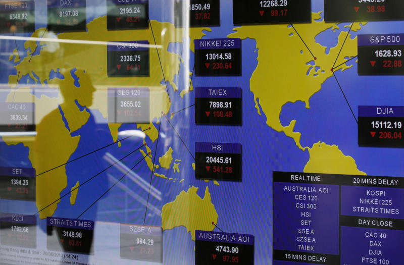 Markets roiled by Bernanke's exit strategy