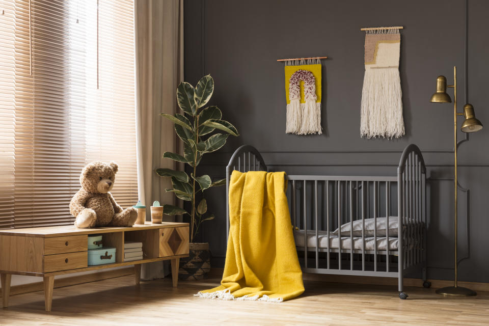 Will the colour of your baby's nursery impact their future? [Photo: Getty]