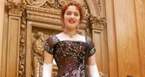 <p>Rose's beaded formal evening gown looks just as stunning while dining in the formal state room as it does while dancing the jig in the lower hull. The movie's monumental success is only one of the reasons this dress is iconic.</p>