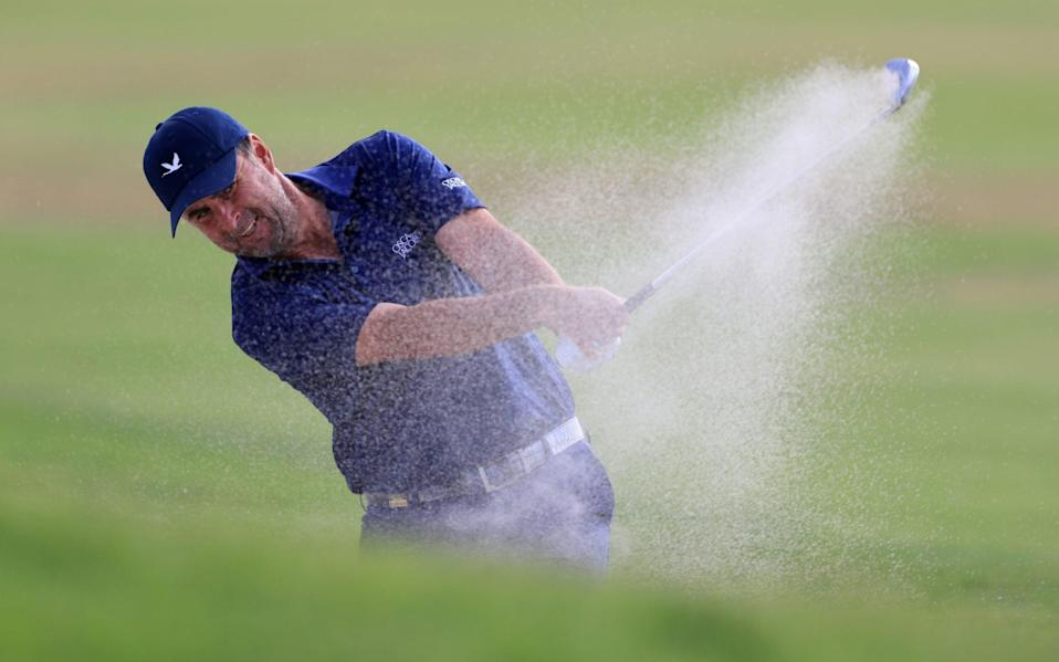 Overnight leader Richard Bland had a back nine to forget, to finish at one-over - GETTY IMAGES
