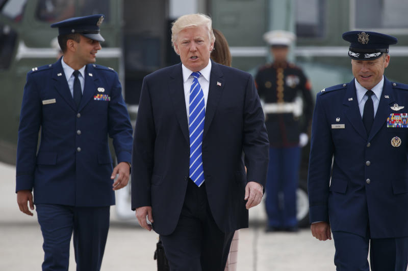 Warsaw sets up stage, gears up security for Trump visit