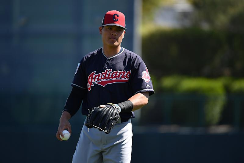 Cleveland Indians v Los Angeles Dodgers