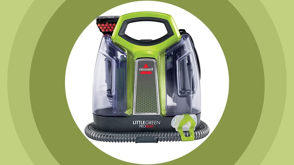 The Bisell Little Green Proheat is on sale through Amazon for 30% off.